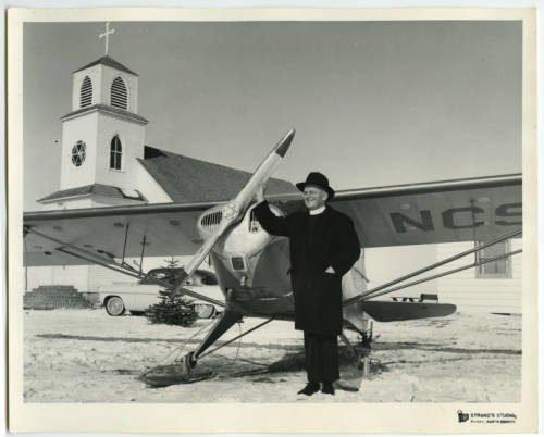 a pilot dodging wood and granite crosses