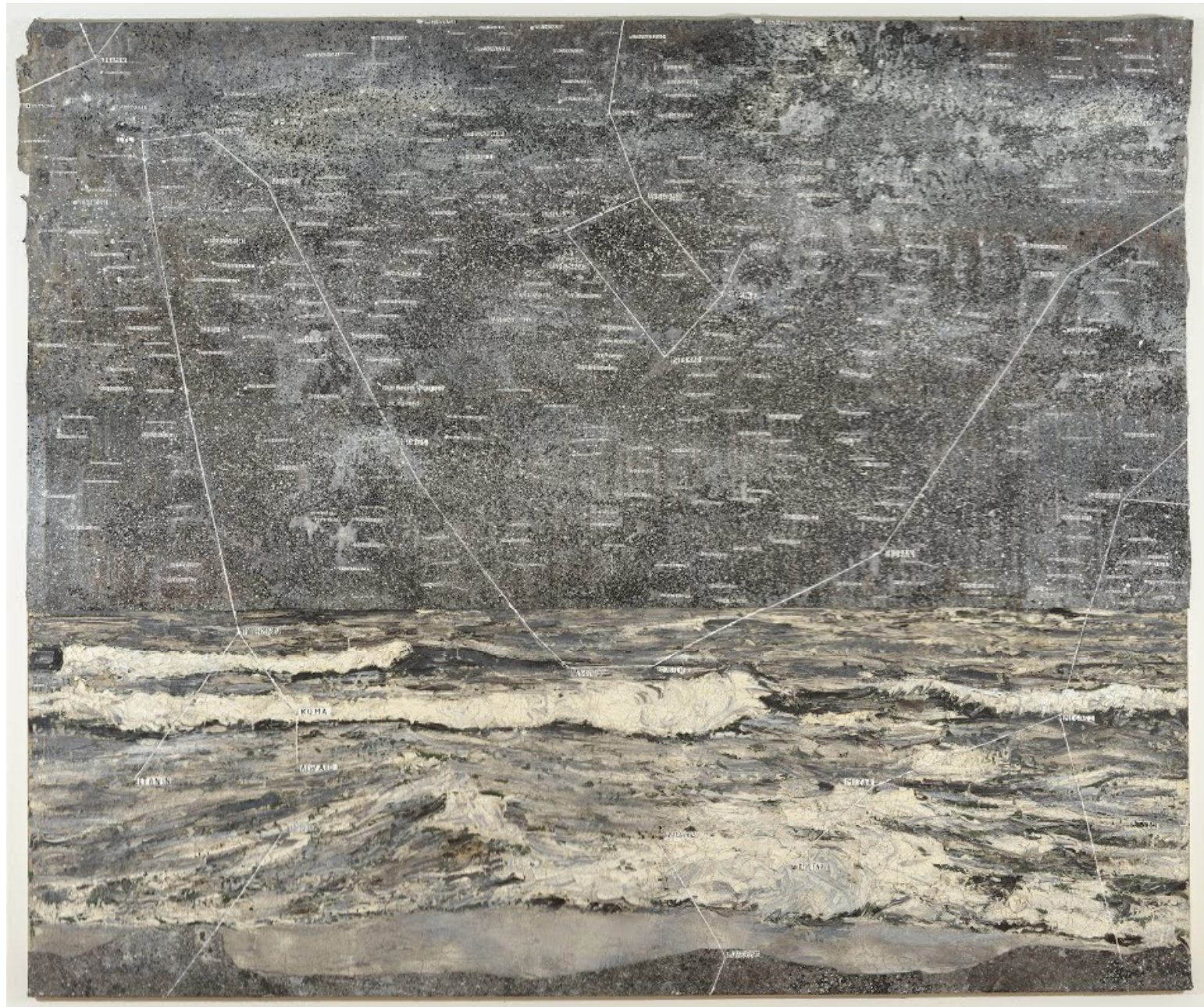 Dragon (Drache) by Anselm Kiefer